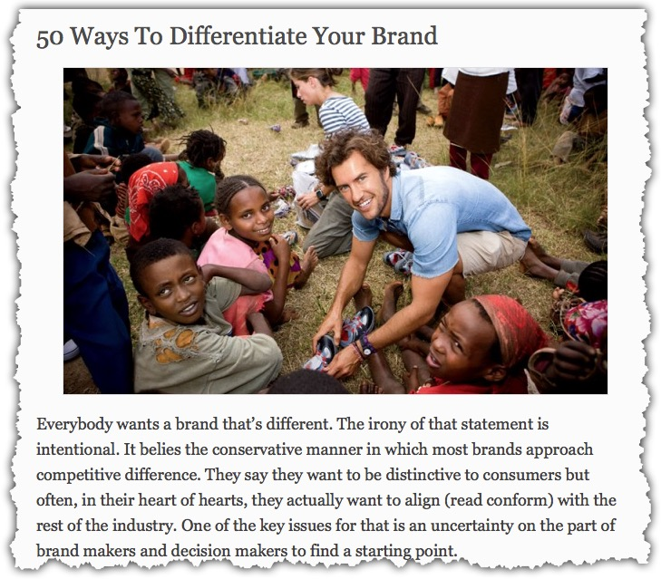 How to Differentiate Your Brand